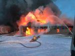 Big Equipment Fire