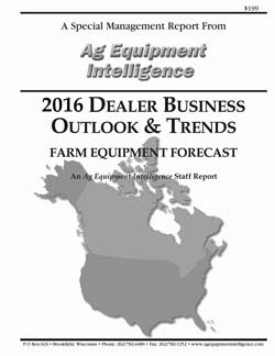 2016 Dealer Business Outlook and Trends - Cover
