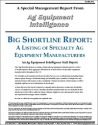 Big Shortline Report: A Listing of Specialty Ag Equipment Manufacturers (PDF)