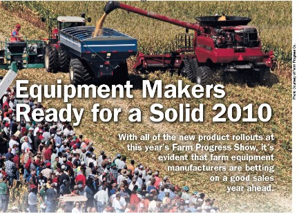 Equipment Makers Ready for a Solid 2010 | Farm Equipment