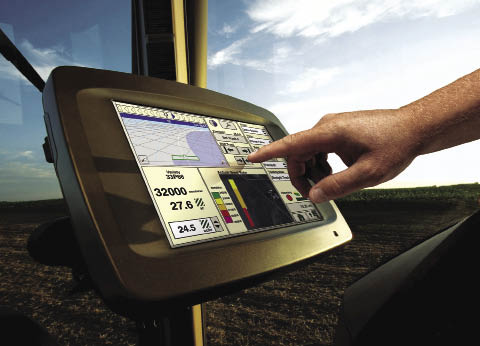 Wireless communication between farm equipment, offices and dealerships will allow for seamless data flow and constant machine health monitoring.