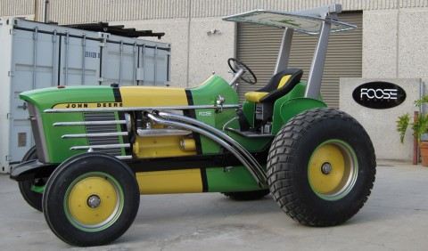 Chip Foose S Latest Creation A Customized John Deere 4020 Tractor Which Was Unveiled At The 2010 Commodity Clic In Anaheim Calif