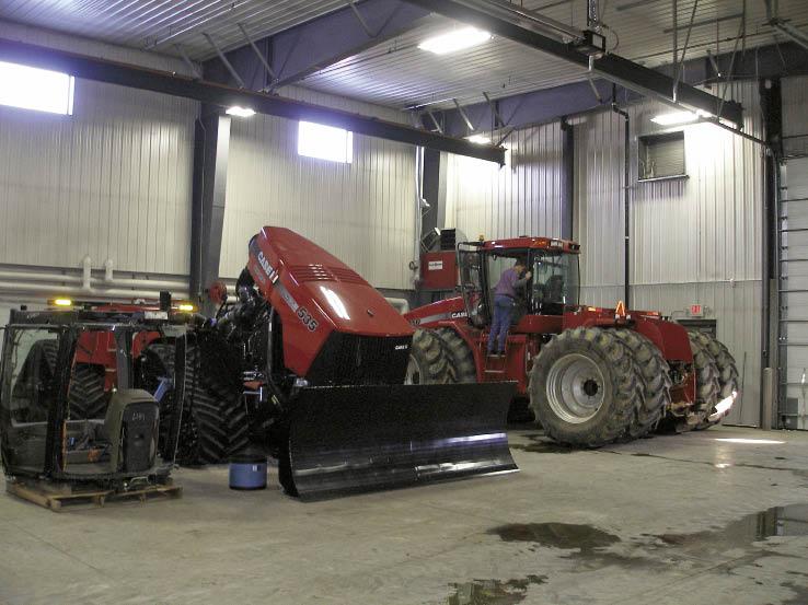 Modernizing Your Service Department Farm Equipment