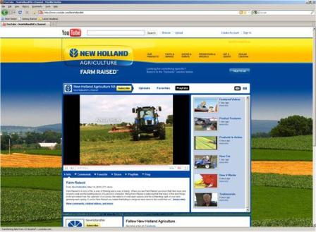 New Holland You Tube