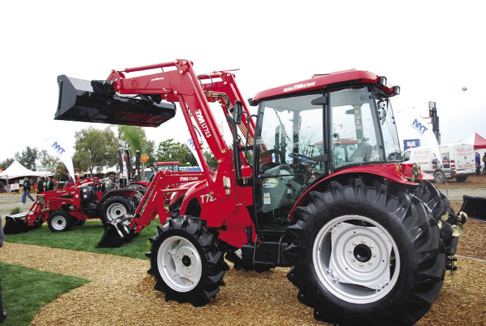 Tym Tractor Review http://www.farm-equipment.com/pages/Features-Three-Winter-Shows-Bring-Out-Latest-in-Farm-Machinery-Advancements.php