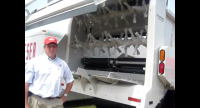 Doug Williams showing the Kuhn Accuspread System