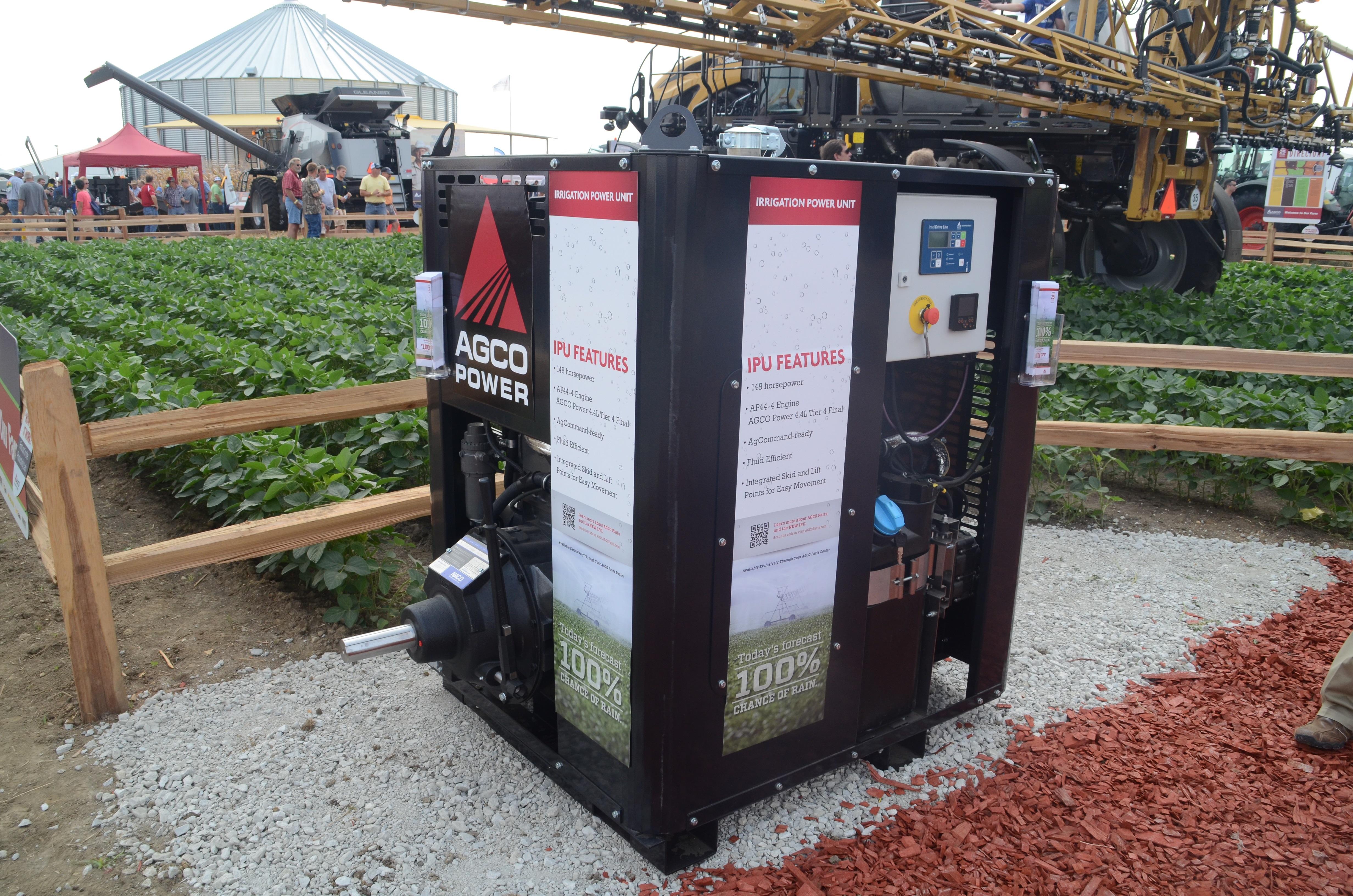 AGCO Introduces 150 Horsepower Portable Irrigation Power