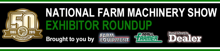 National Farm Machinery Show Banner