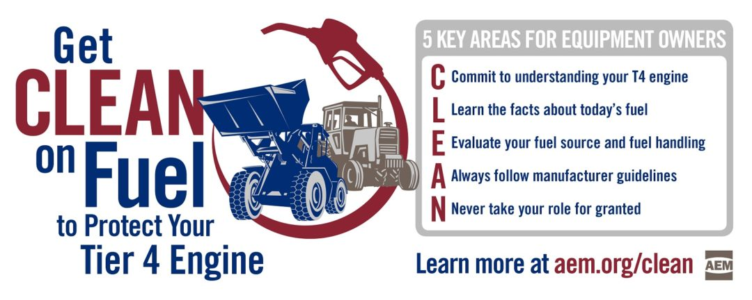 AEM Get Clean on Fuel infographic