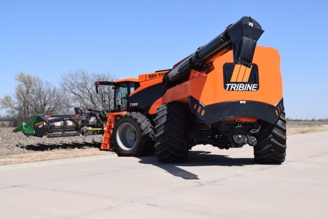 Tribine Harvester Moves Out of R&D and Into Production