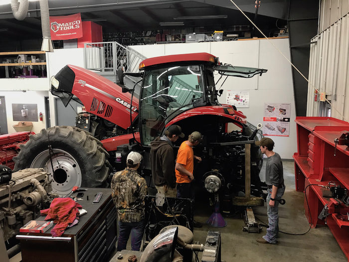 Case IH tractor donation