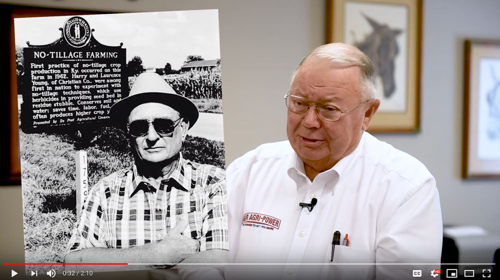 Wayne Hunt Reflects on Harry Young's Impact on No Till Farming