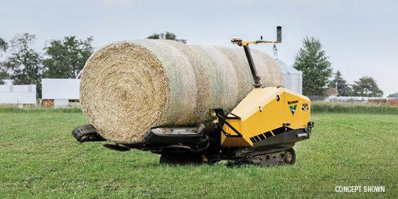 Vermeer Autonomous Bale Mover Concept