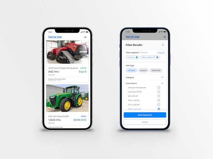 Tractor Zoom Launches Equipment Dealer Listing