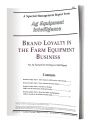 Brand Loyalty in the Farm Equipment Business (PDF)