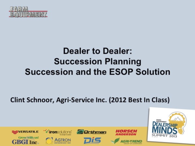 Succession Planning & The ESOP Solution