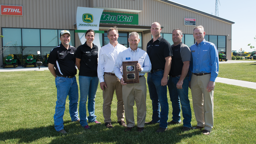 What it Means to Be Named Dealership of the Year: Van Wall Equipment