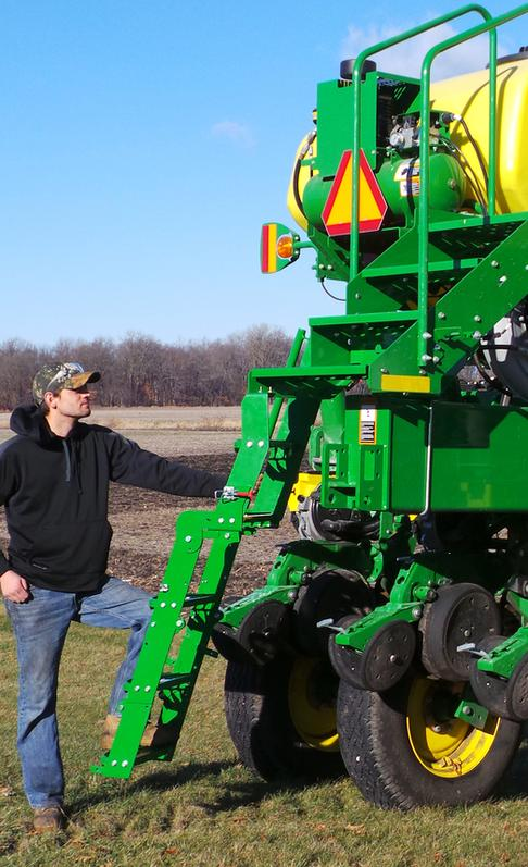 Ndy Mfg Introduces New Center Fill Ladder Extension For Planters