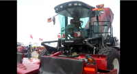 MacDon M205 Self Propelled Windrower