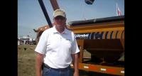 John Matteson with Strobel Mfg at Farm Progress Show 2011