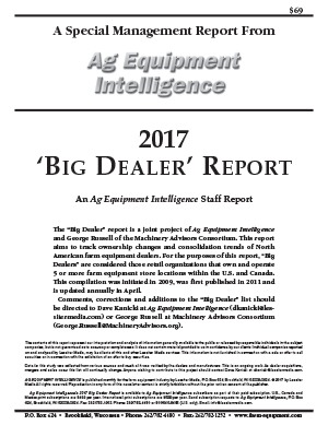 Big Dealer Report Cover