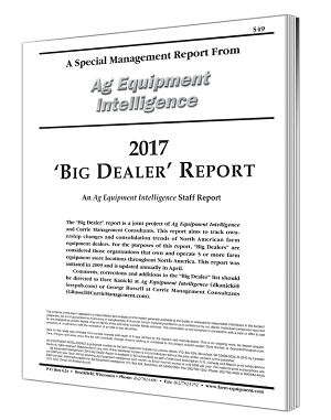 2017 Big Dealer Report Cover