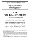 2016 Big Dealer Report