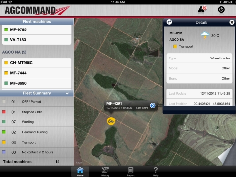 AGCO Launches Mobile App for Professional Farmers