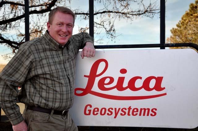 Harlan Little, Leica Geosystems