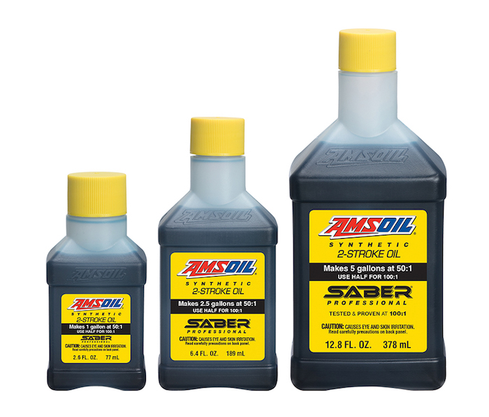 AMSOIL SaberProfessionalProfessional Synthetic 2-Stroke Oil 0517 copy