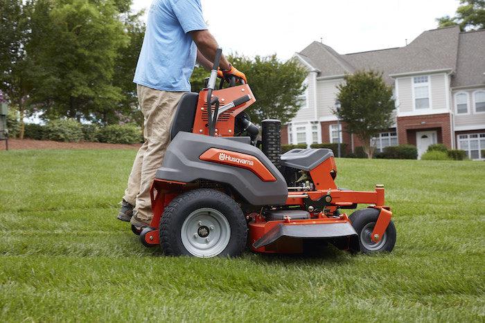 Husqvarna V500 Stand On Mower Farm Equipment Publication