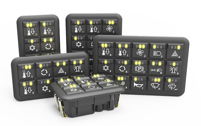 Grayhill Inc. CANbus Keypads and MMI Controllers for Off-Highway Vehicles