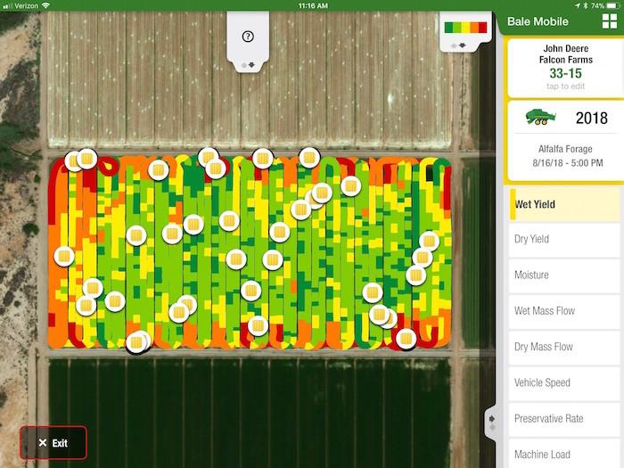 John Deere Bale Mobile App | Farm Equipment Publication