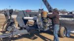 Loftness GBU10 Grain Bag Baler Attachment