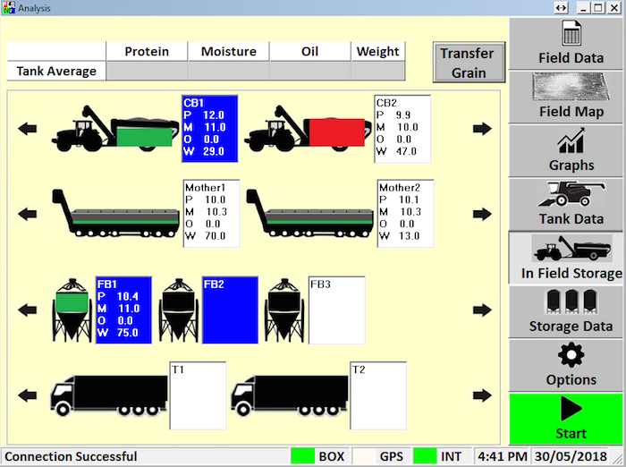 Next Instruments CropScan 3300H Logistics Software copy