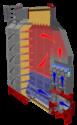 Mathews Co. Delta Series Mixed-Flow Grain Dryer