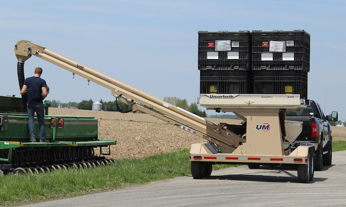 Unverferth Models 410 and 210 Seed Pro Bulk Box Carriers