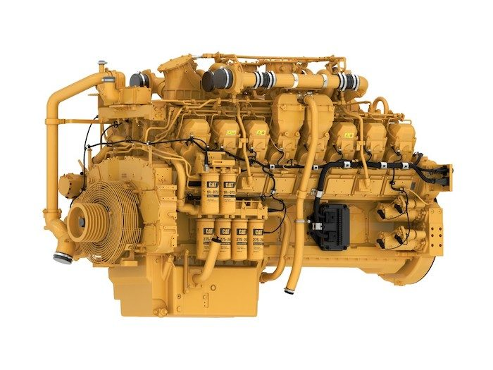 Caterpillar Cat 3516E Engine_1219 copy