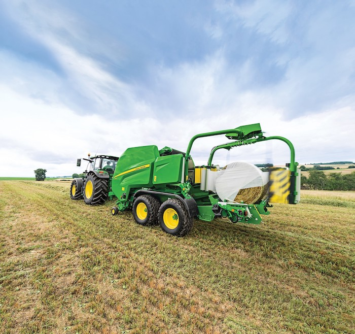 John Deere C451R and C461R Combination Round Balers