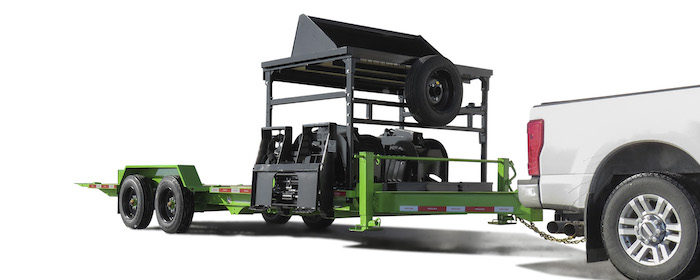 Felling Trailers IT-I Tilt Model Trailer with Removable Attachment Rack_0320  copy