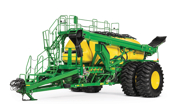 John Deere C650 Air Cart