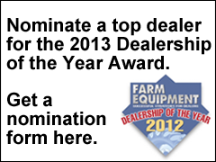 2013 Dealership of the Year Nomination Form