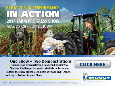 Michelin 2014 Farm Progress Show
