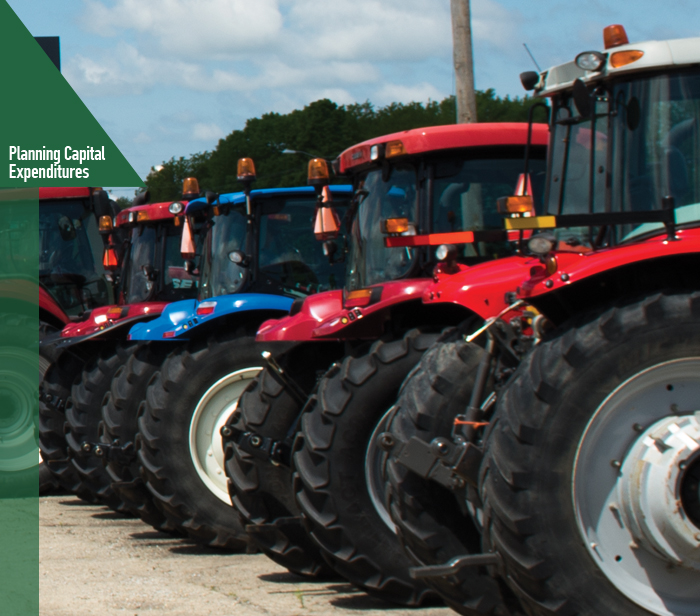 What Is Capital Expenditure on 2015 Farm Machinery And Equipment Outlook