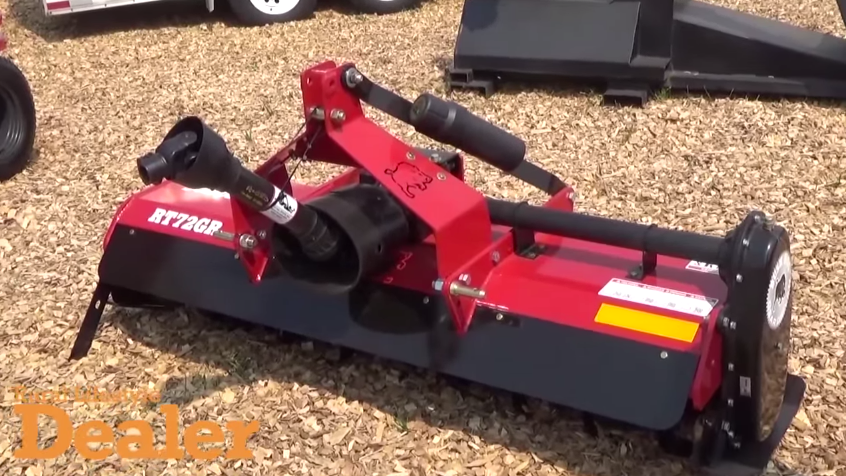 Bush Hog Unveils New Rtg Series Of Rotary Tillers 2015