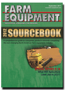 Farm Equipment Magazine Cover - September 2011