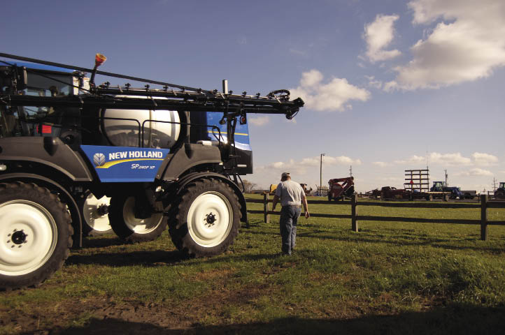 New Holland Rochester began selling New Holland sprayers through Ag Technologies in 2011 as an equipment partner to the precision farming products sold.