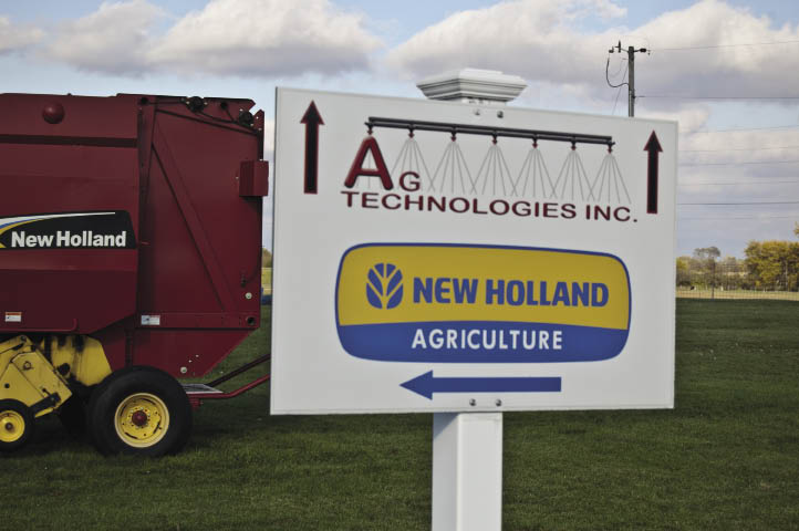 Ag Technologies — located 150 feet from New Holland Rochester — opened in 2011 as an independent business to sell and service all the precision farming products sold through all four of owner Jim Straeter's New Holland equipment dealerships in Indiana.