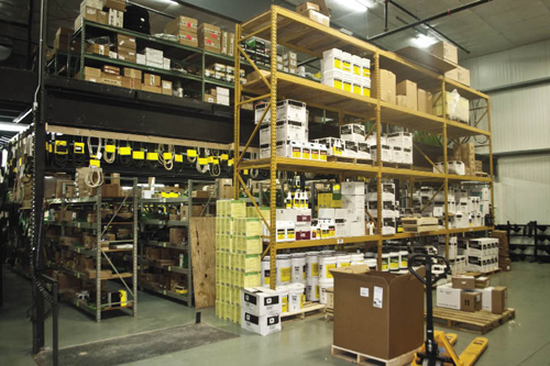 From the service desks through parts storage, every square inch of Hiawatha Implement was intelligently designed with workflow efficiency in mind.