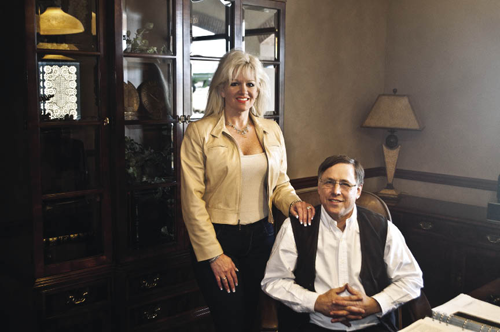 Owner Larry Roeder and his wife Susan